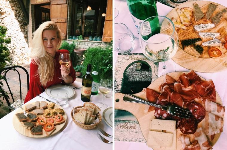 italian food umbria