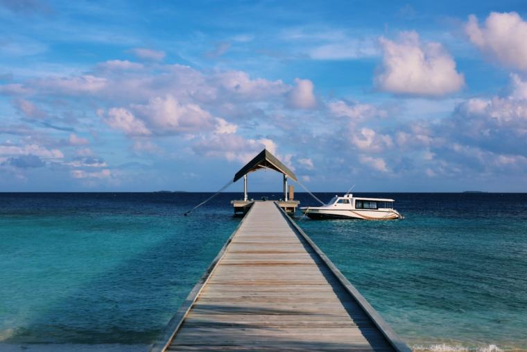 Amari Havodda Maldives arrival
