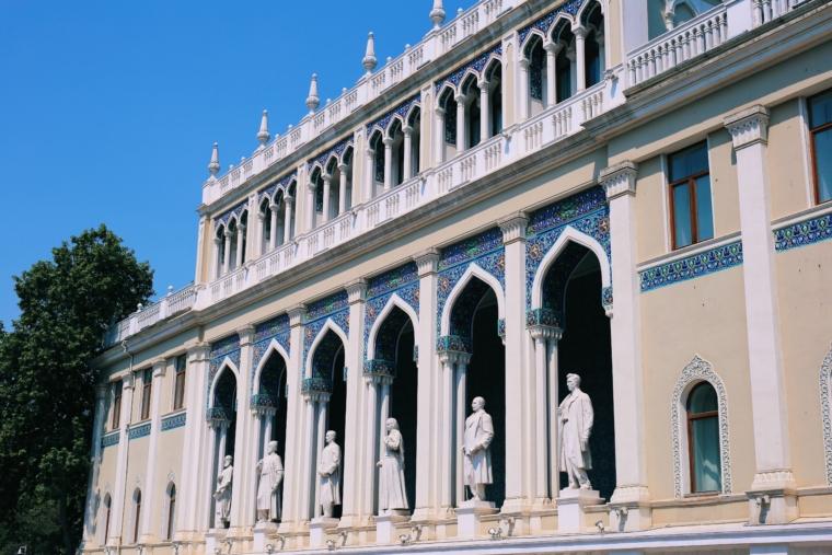Baku Azerbaijan architecture