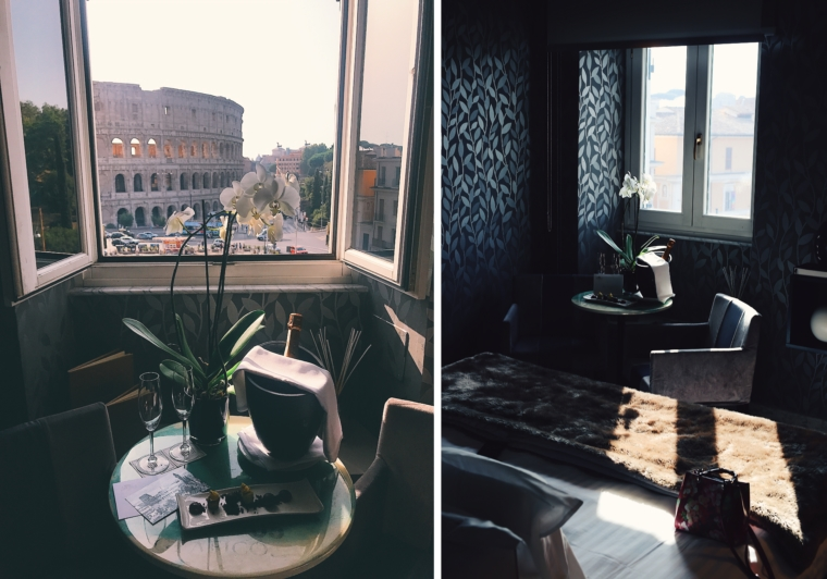 best colosseum view hotel view palazzo manfredi rome