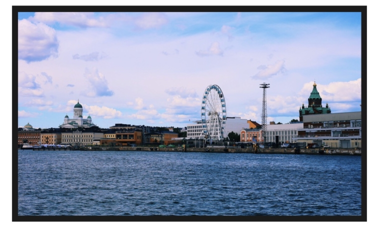 helsinki sea view harbour