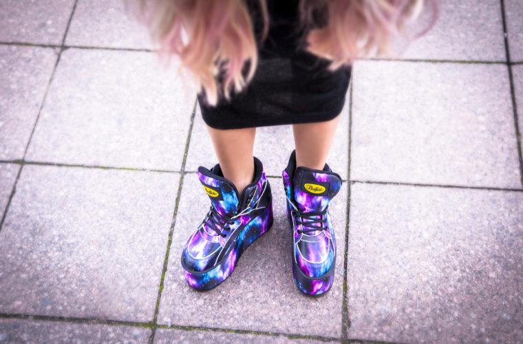 galaxy buffalo classics 90s 90er style xxl mega plateau shoes