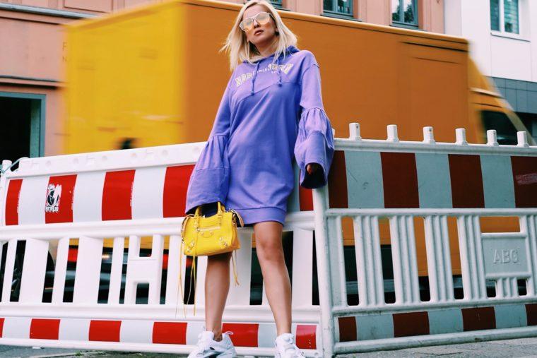 sweatshirt kleid trend 2017