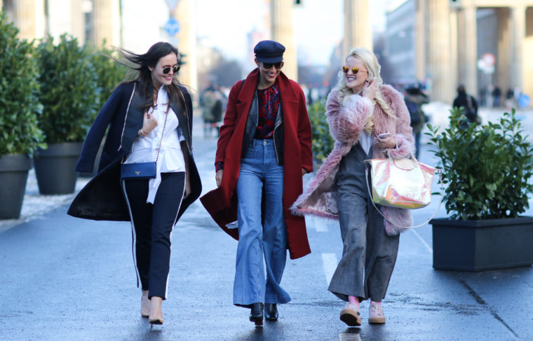 Prominent VOX Berlin Fashion Week Rabea Schiif Palina Pralina Designdschungel