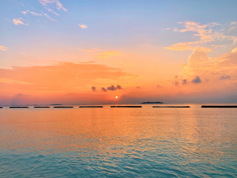kurumba maldives sunset