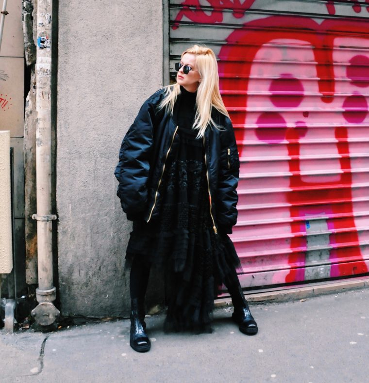 bowie wong vetements haute couture fashion week streetstyle