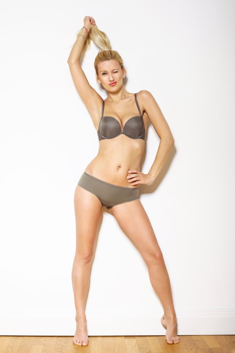 terry richardson style photogphy underwear shoot with wonderbra