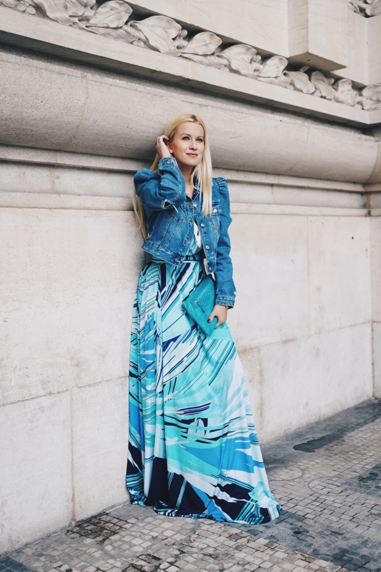leonard paris dress paris fashion week streetstyle palina kozyrava