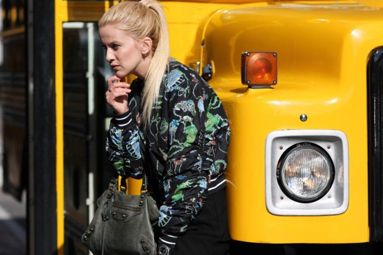 puma swash bomber american school bus streetstyle shooting balenciaga bag jmstreetstyles Jeremy Möller