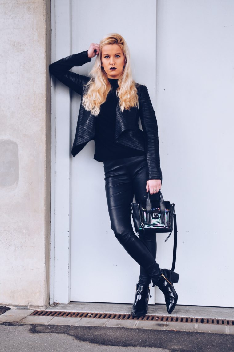 black edgy look trend must have 2016