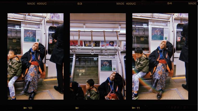 Osaka japan metro train