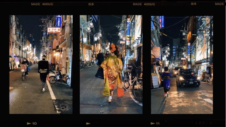 Osaka japan namba kimono