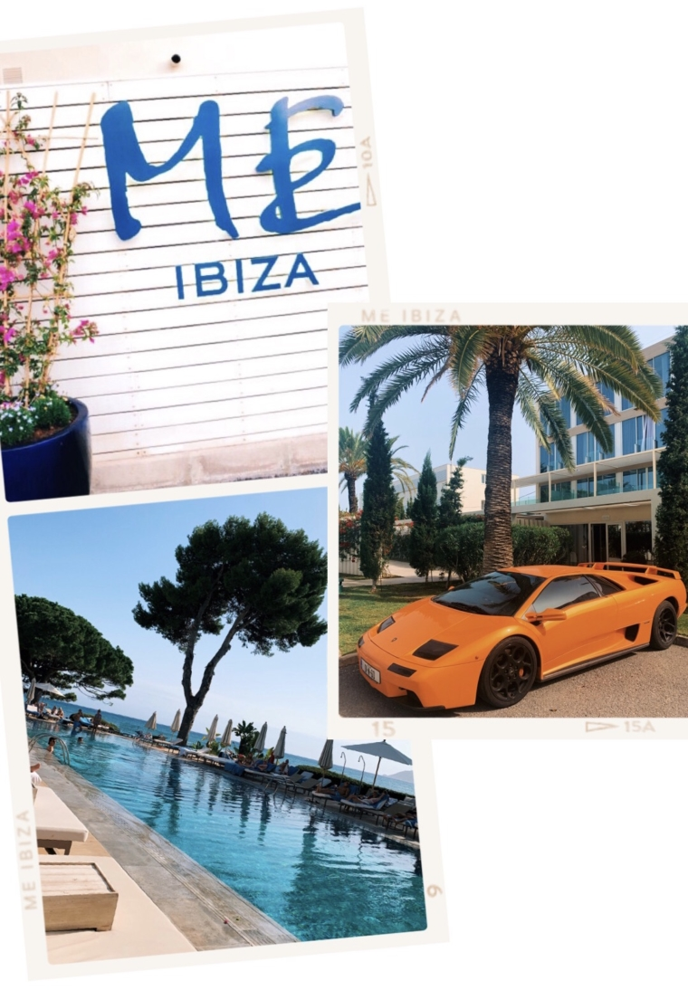 Me Ibiza hotel luxury