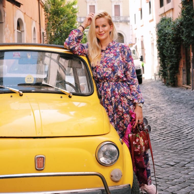 oldtimer fiat 500 retro car rom italien bestes auto