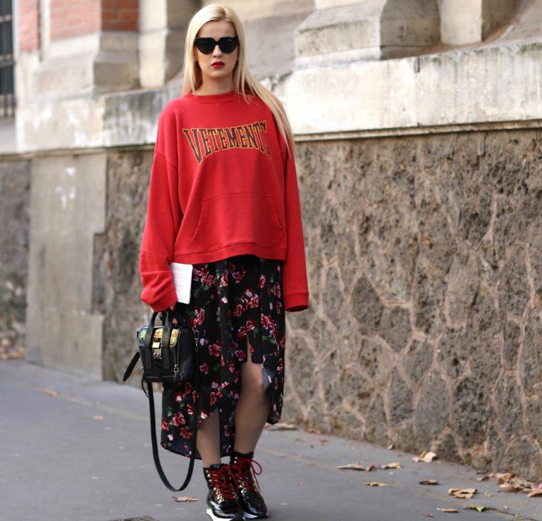 before john galliano show streetstyle pfw paris fashion week vetements