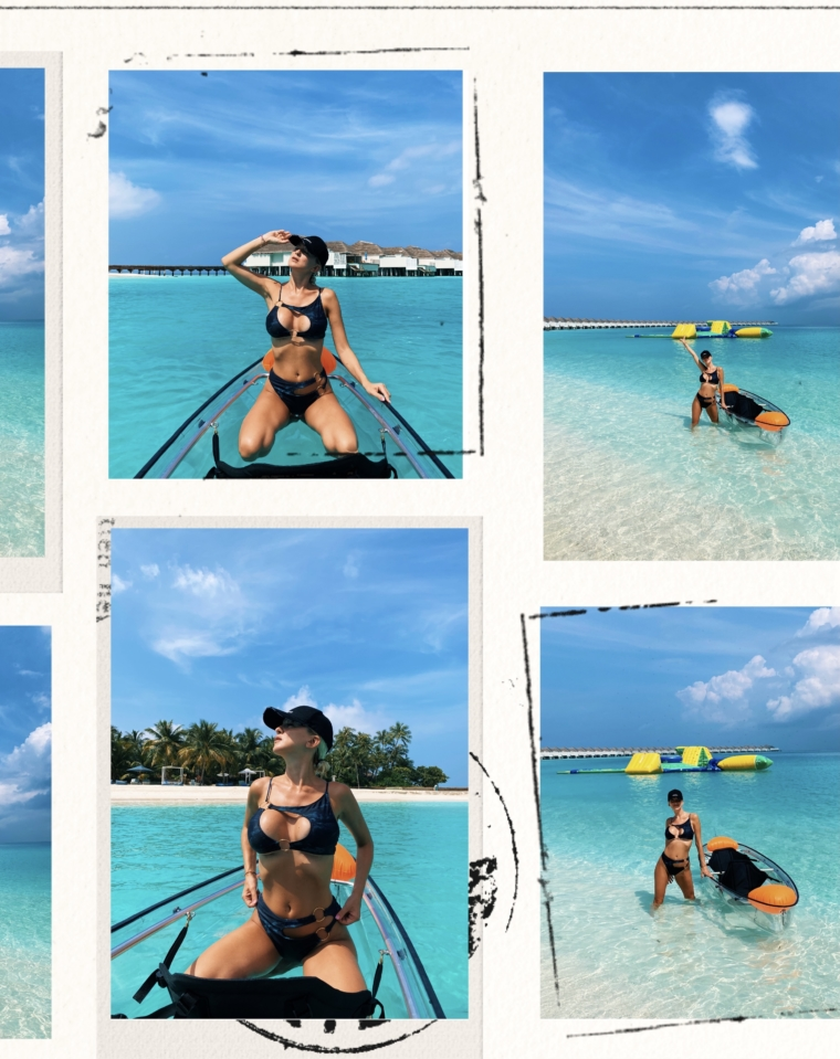 Finolhu Maldives kayak