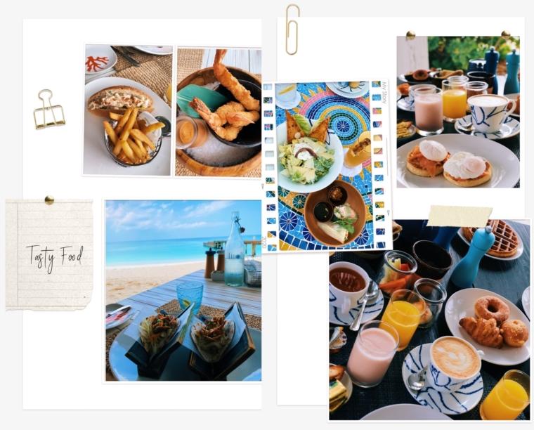 Finolhu Maldives food