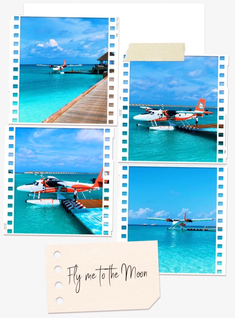 Finolhu Maldives seaplane