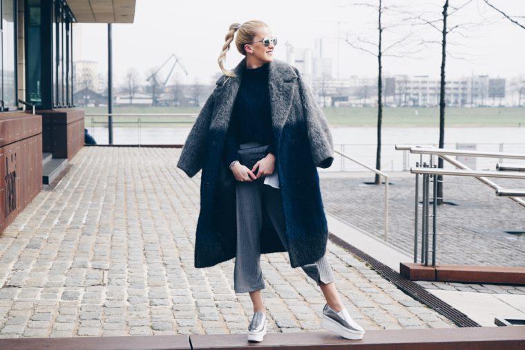 xxl oversized gray coat asos white mantel
