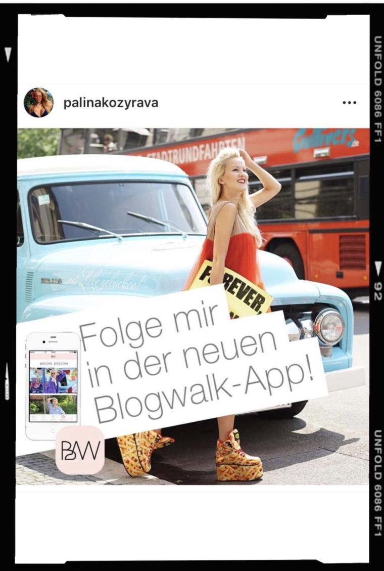 blogwalk app
