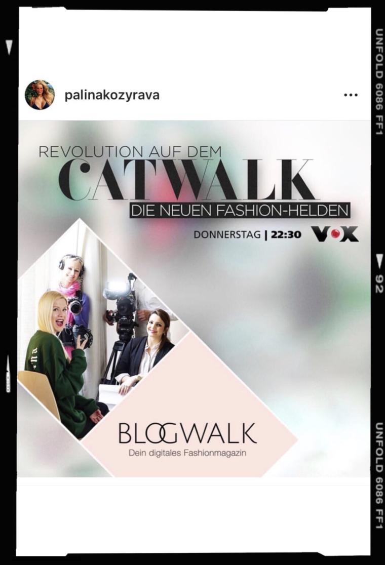 revolution auf dem catwalk die neuen fashion helden vox doku palina pralina kozyrava