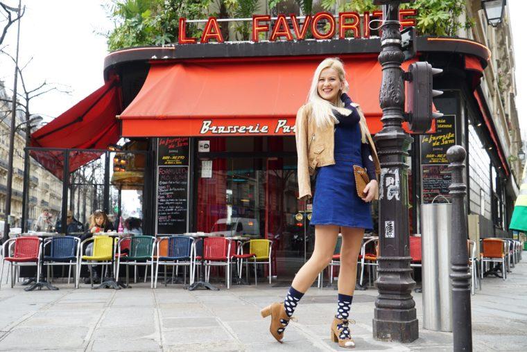 paris fashion week streetstyle oasis polka dots 2016 aw pfw