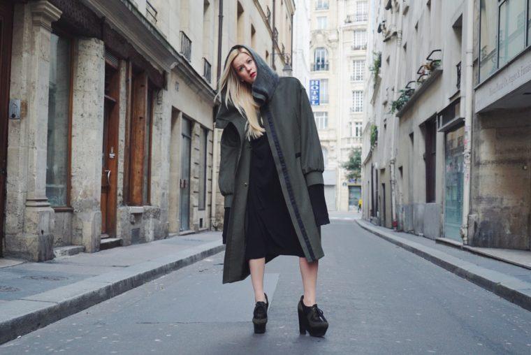 Paris Fashion Week Streetstyle Sean Suen Julius Burberry Khaki Trend 2016