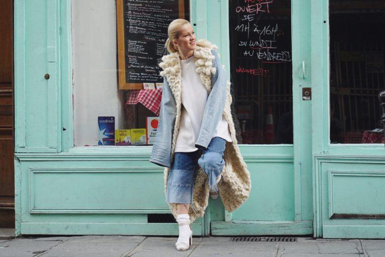allude cashmere paris fashion week 2016 streetstyle pfw denim trend