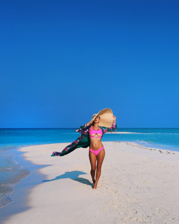 Kuramathi Maldives sandbank