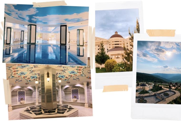 Azerbaijan shamakhi palace sharadil hotel