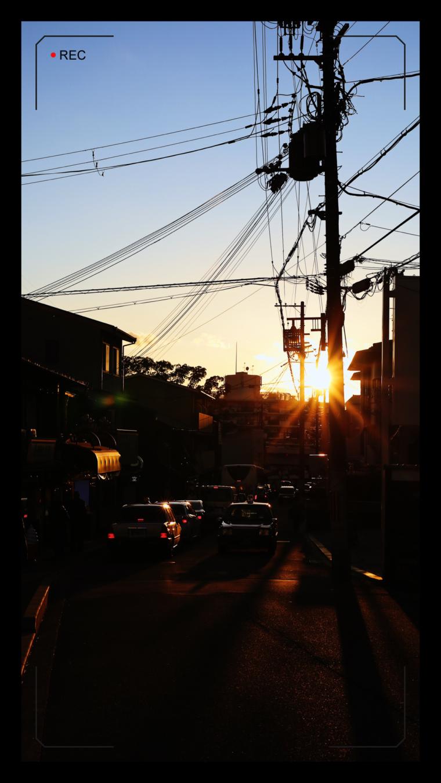 kyoto japan sunset