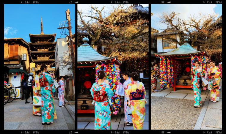 kyoto japan kimono
