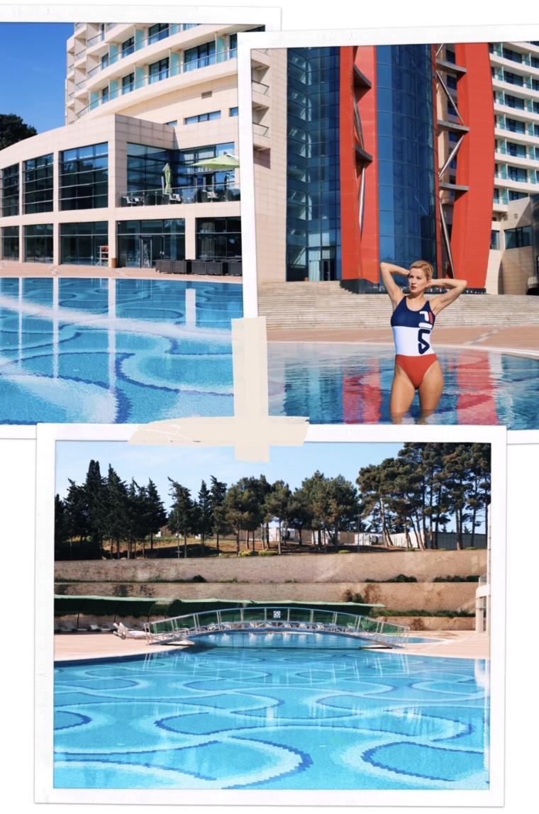 bilgah beach hotel baku azerbaijan pool