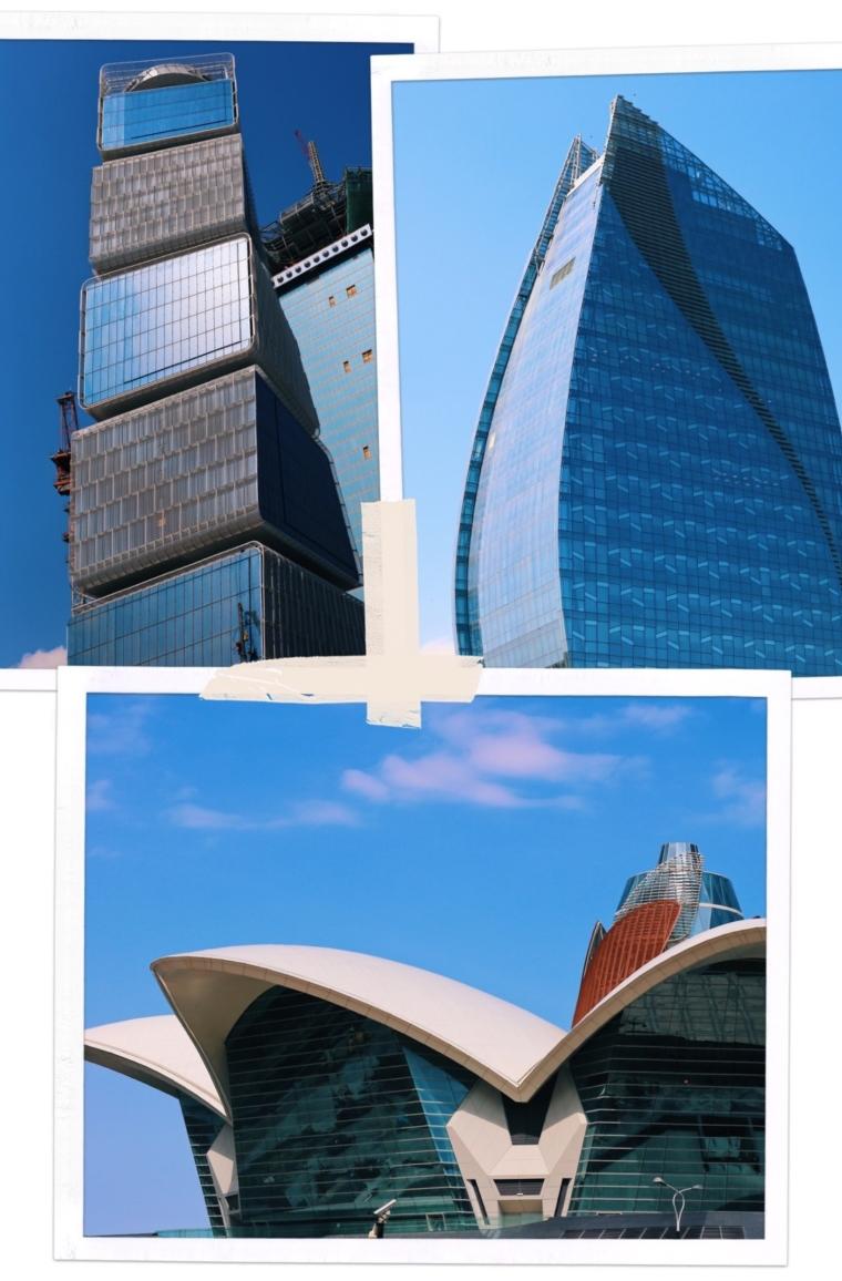 Baku Azerbaijan modern architecture