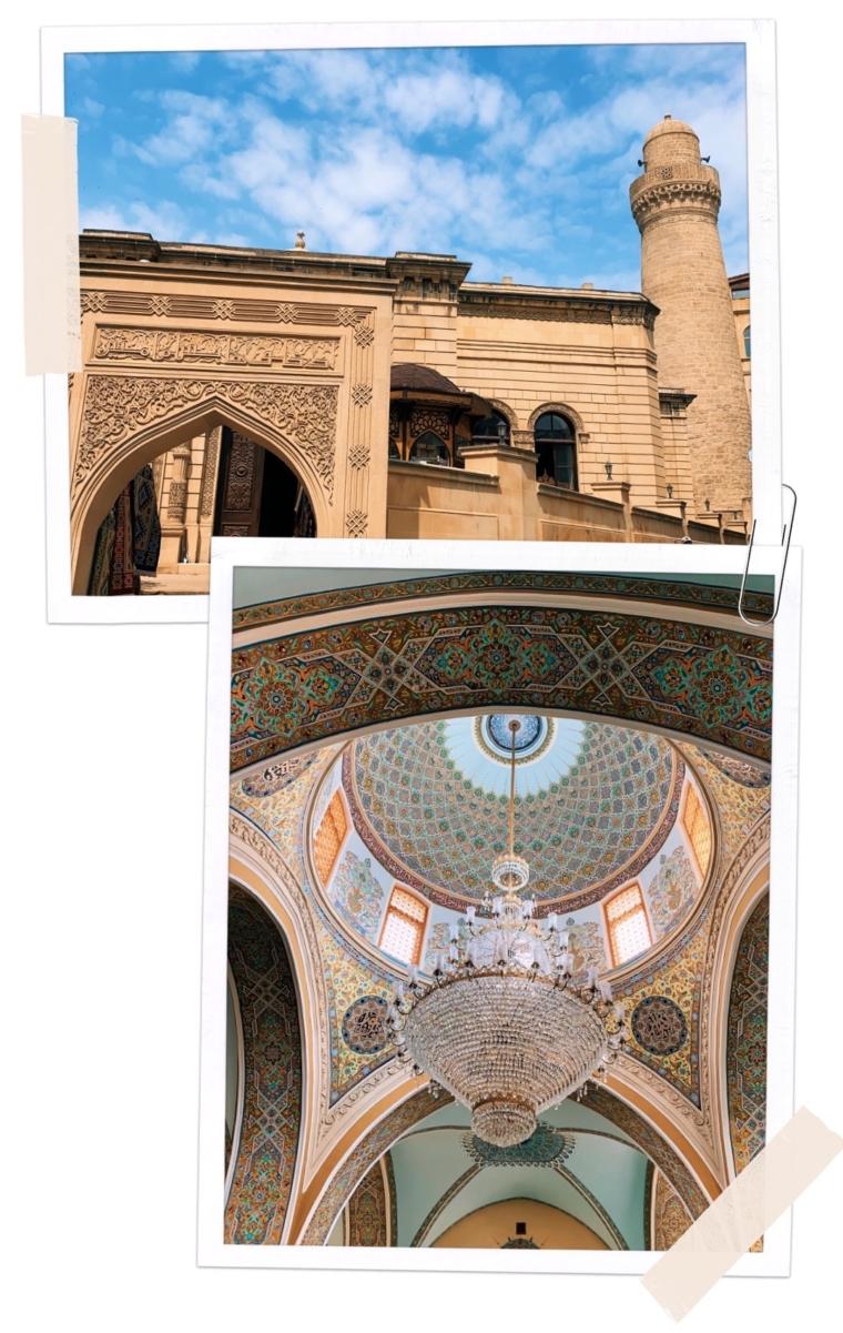 Baku Azerbaijan mosque