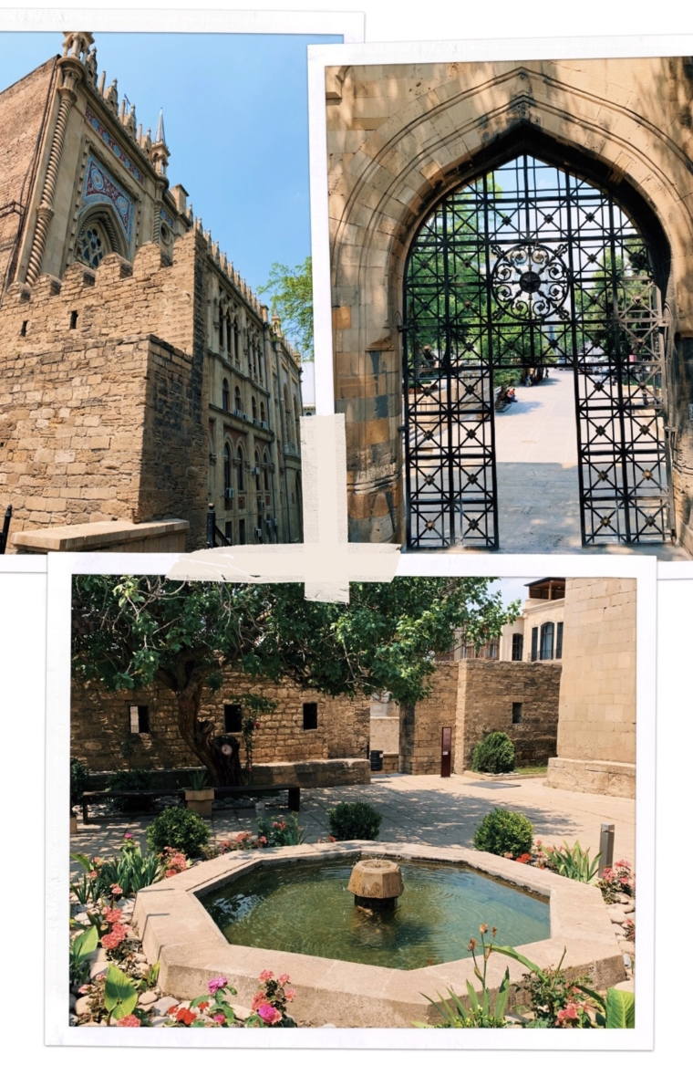 old city baku Azerbaijan