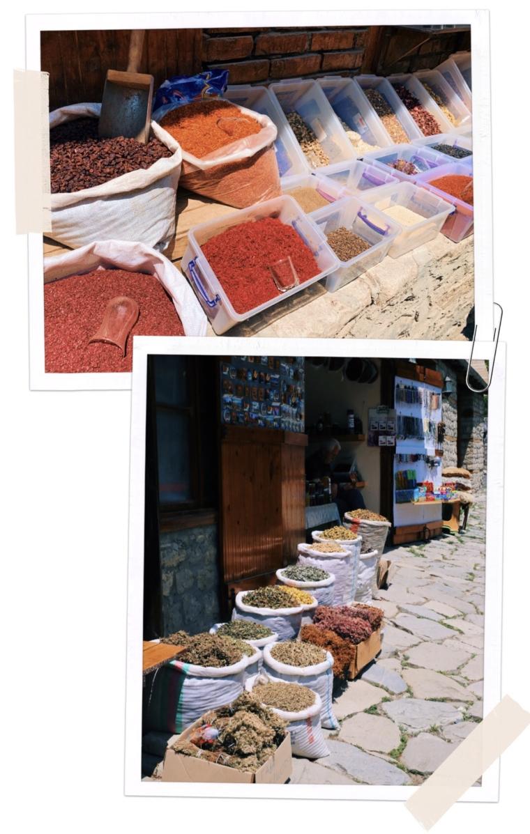 azerbaijan lahij village market