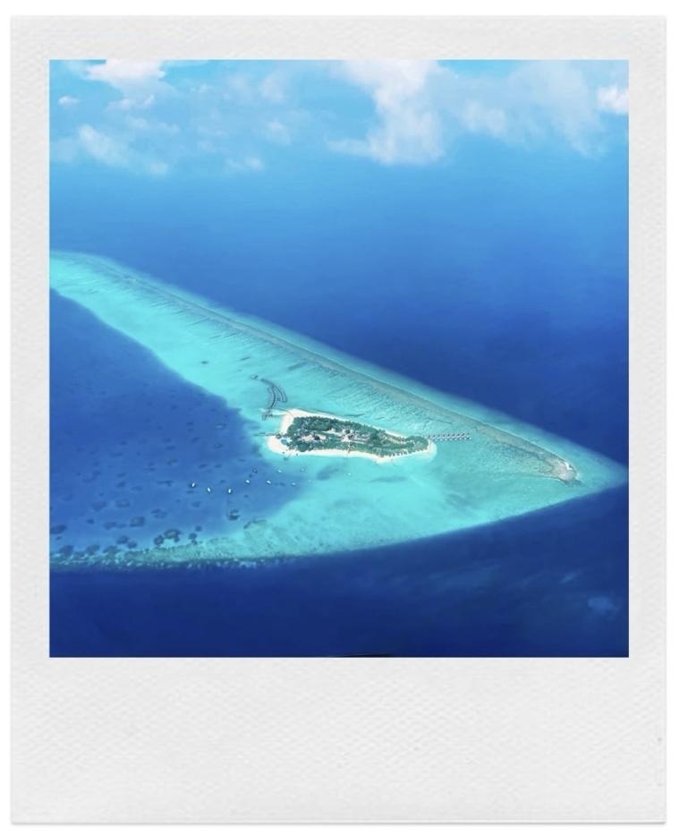 Velassaru Maldives from above