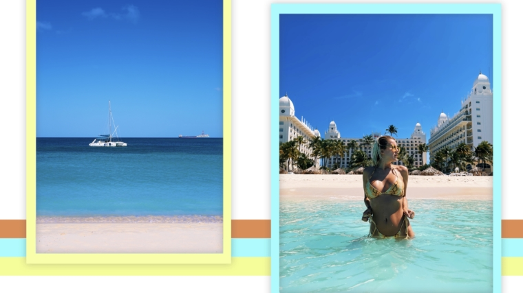 RIU Palace Aruba beach
