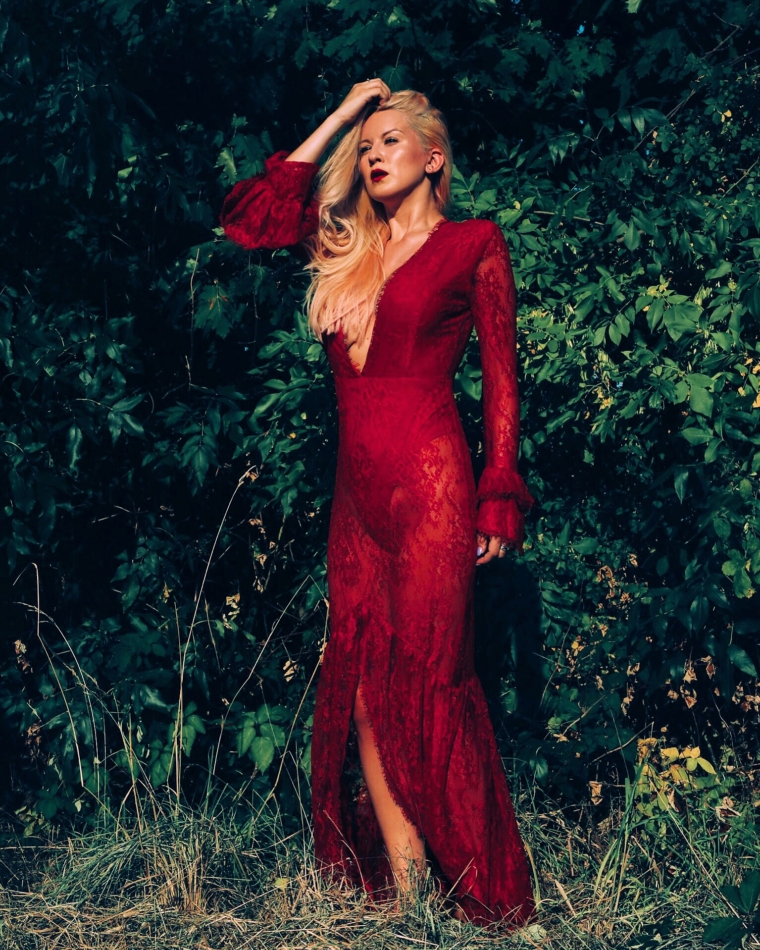 red lace dress from revolve red carpet style maxi with cut outs