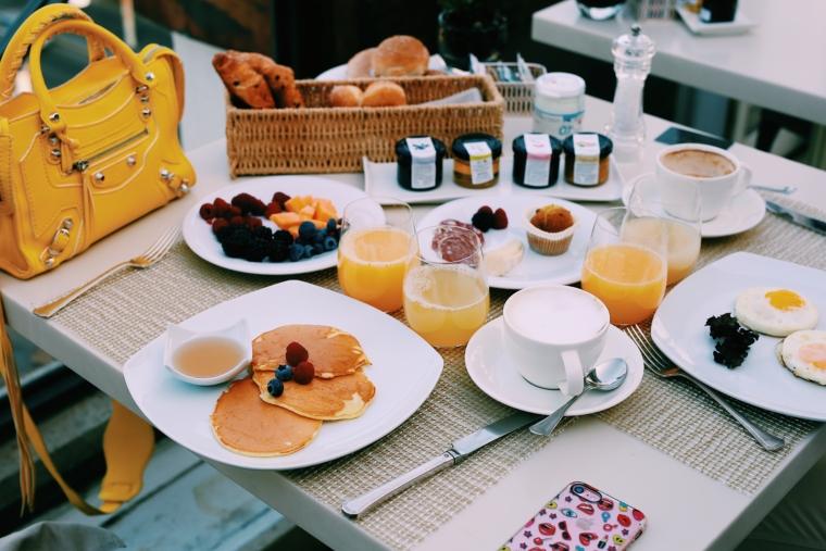 best breakfast in rome palazzo menfredi hotel