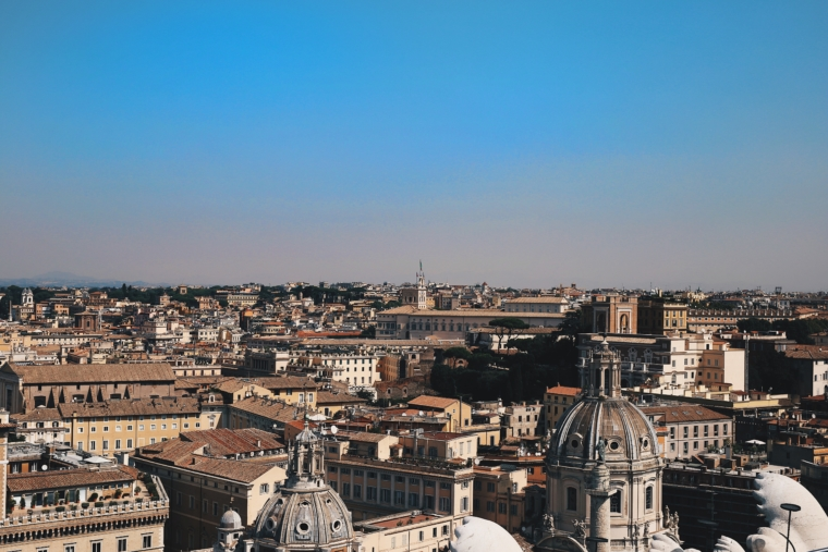 view over rome
