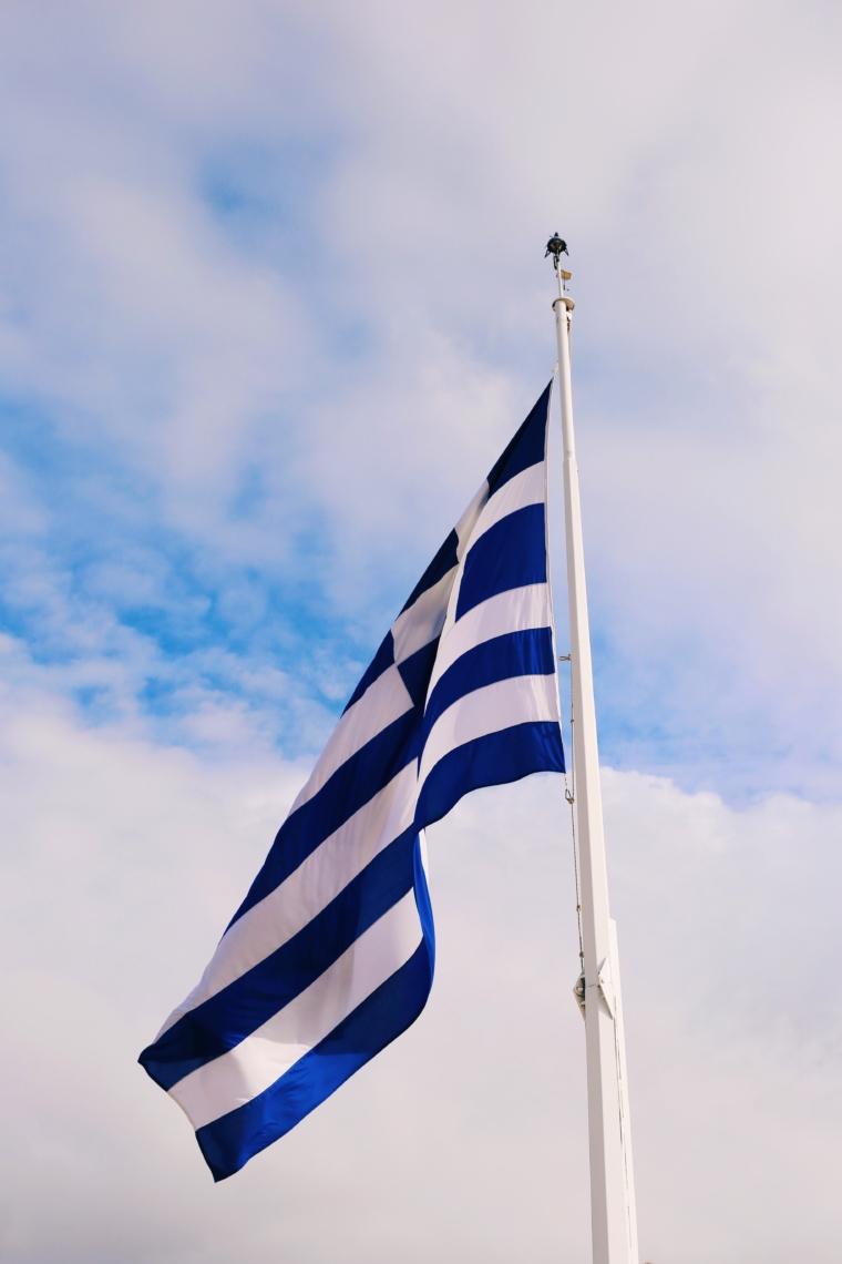 griechische fahne athen