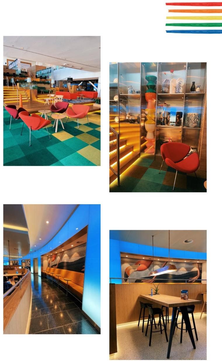 klm amsterdam business class lounge