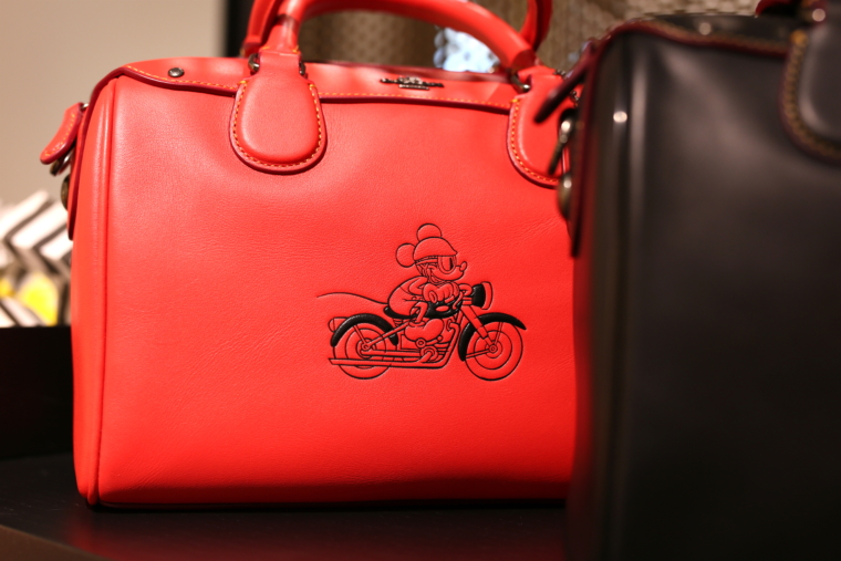rote coach disney handtasche leder roermond outlet