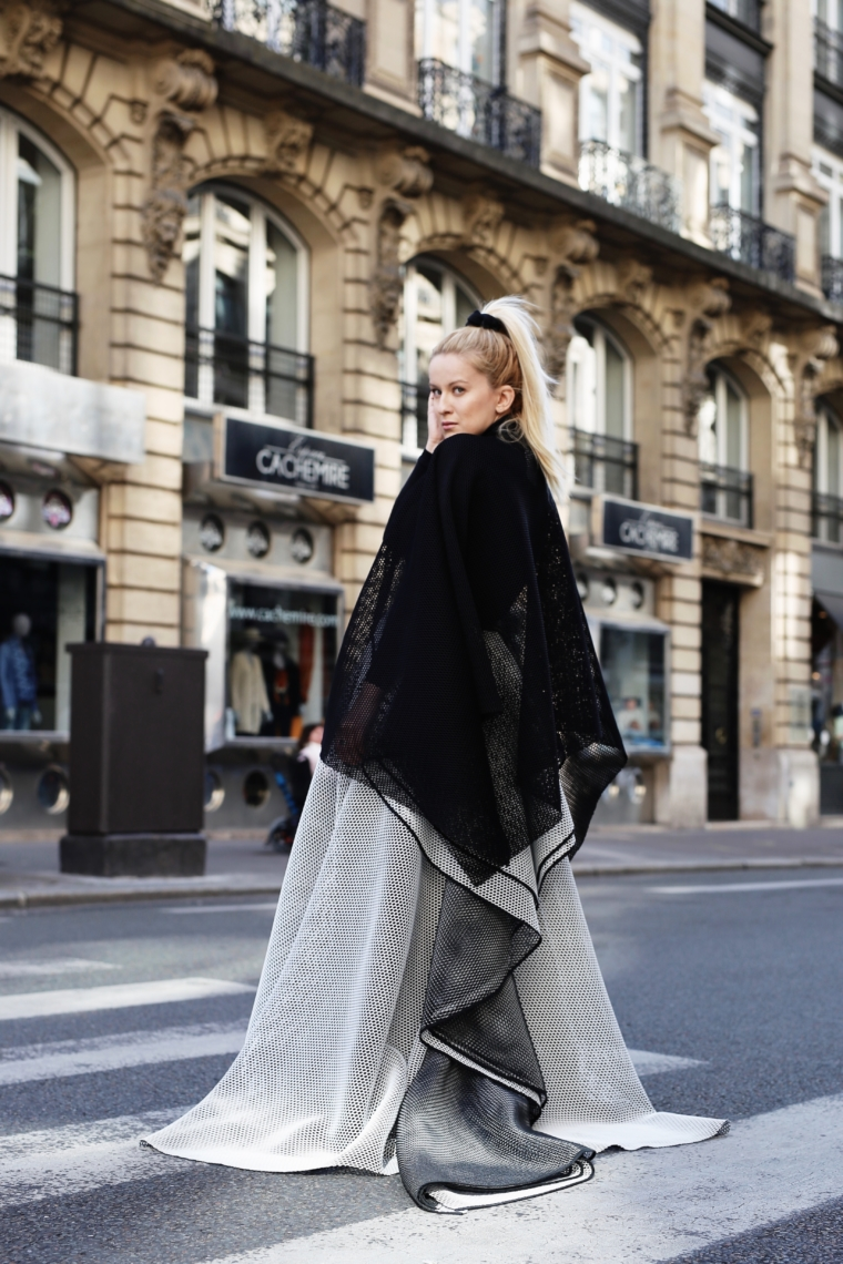 Talbot Runhof streetstyle paris fashion week 2017 2018