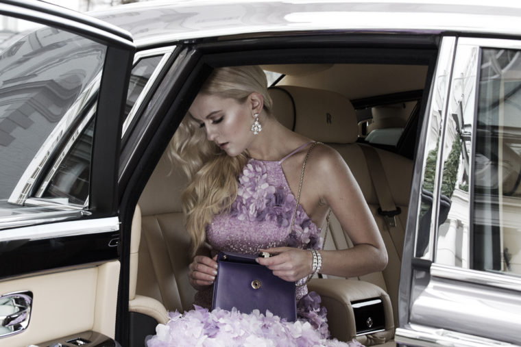 rolls royce shooting mit bulgari & meissen couture roter teppich berlinale cannes festival