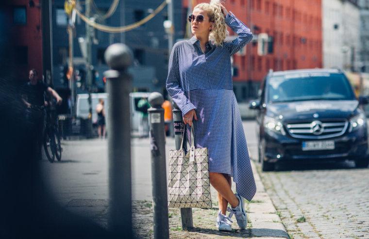 mercedes benz fashion week berlin streetstyle gingham trend 2017