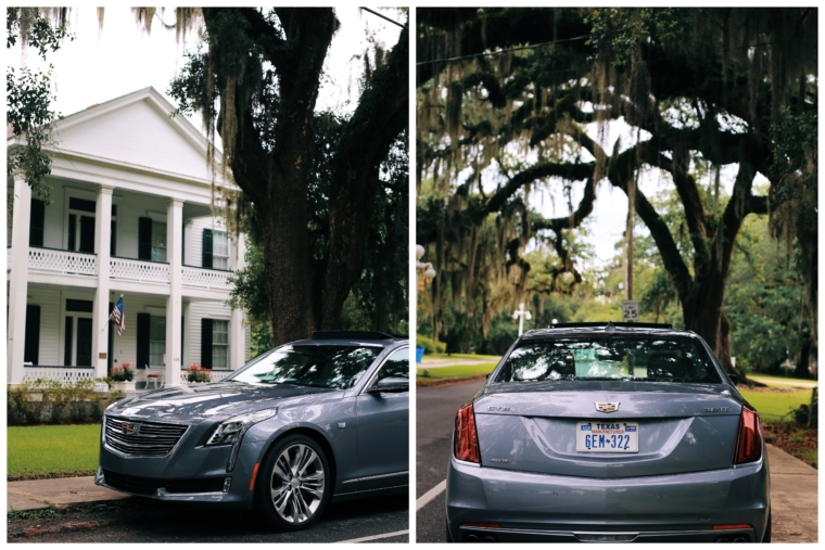 cadillac c6 road tour trip LOUISIANA