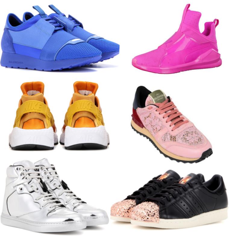 sneaker must haves 2016 valentino balenciaga nike puma